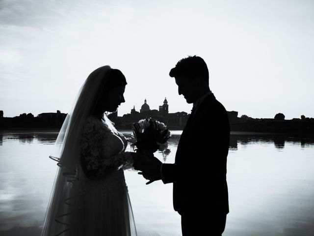 Il matrimonio di Riccardo e Giulia a San Giorgio Bigarello, Mantova 2