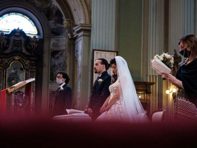 Il matrimonio di Jasmine e Antonio a Desio, Monza e Brianza 61