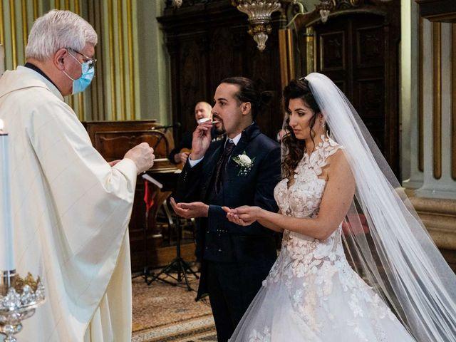Il matrimonio di Jasmine e Antonio a Desio, Monza e Brianza 63