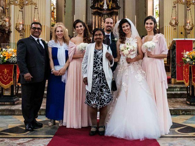 Il matrimonio di Jasmine e Antonio a Desio, Monza e Brianza 73