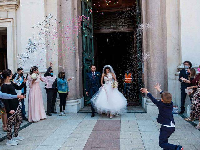 Il matrimonio di Jasmine e Antonio a Desio, Monza e Brianza 77
