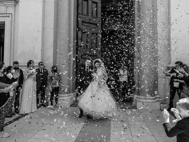 Il matrimonio di Jasmine e Antonio a Desio, Monza e Brianza 79