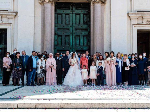 Il matrimonio di Jasmine e Antonio a Desio, Monza e Brianza 81