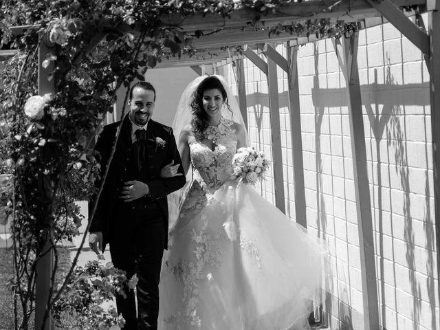 Il matrimonio di Jasmine e Antonio a Desio, Monza e Brianza 106