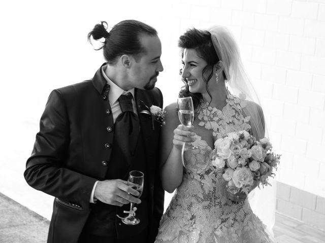 Il matrimonio di Jasmine e Antonio a Desio, Monza e Brianza 109