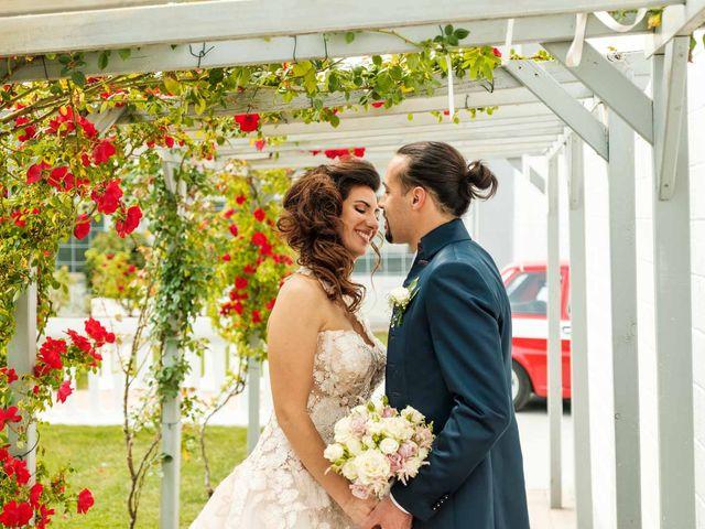 Il matrimonio di Jasmine e Antonio a Desio, Monza e Brianza 116
