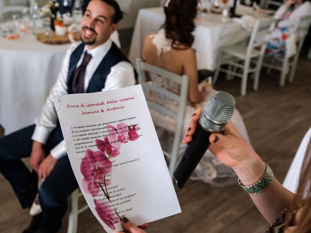 Il matrimonio di Jasmine e Antonio a Desio, Monza e Brianza 141
