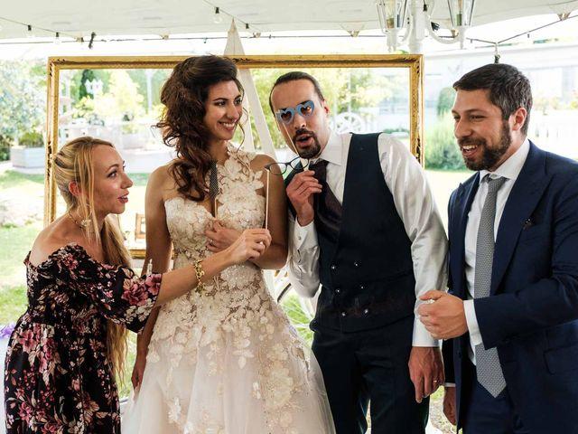 Il matrimonio di Jasmine e Antonio a Desio, Monza e Brianza 147