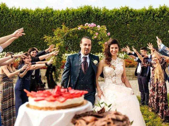 Il matrimonio di Jasmine e Antonio a Desio, Monza e Brianza 166