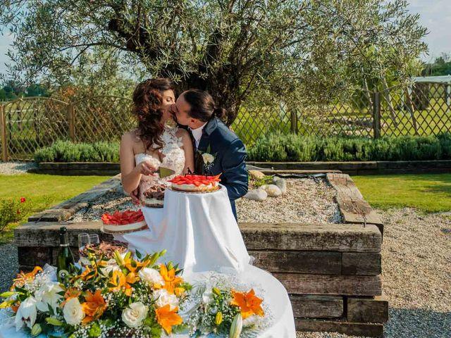 Il matrimonio di Jasmine e Antonio a Desio, Monza e Brianza 170