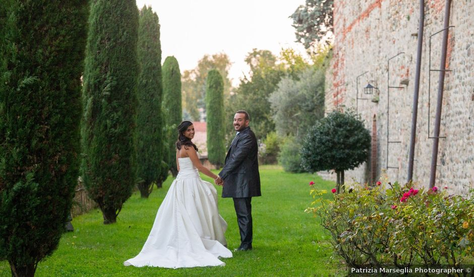 Il matrimonio di Luciano e Giulia a Moncrivello, Vercelli