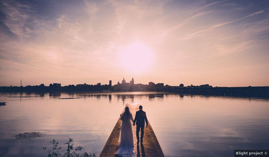 Il matrimonio di Riccardo e Giulia a San Giorgio Bigarello, Mantova