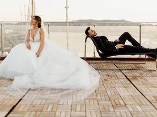 Le nozze di Cristina e Denis