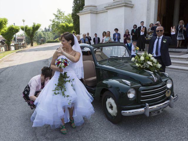 Il matrimonio di Lorenzo e Martina a Seren del Grappa, Belluno 8