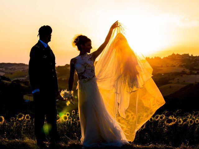 Il matrimonio di Nicola e Valentina a Potenza Picena, Macerata 34