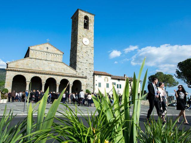 Il matrimonio di Andrea e Alessandra a Reggello, Firenze 22