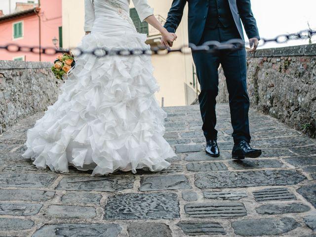 Il matrimonio di Andrea e Alessandra a Reggello, Firenze 32