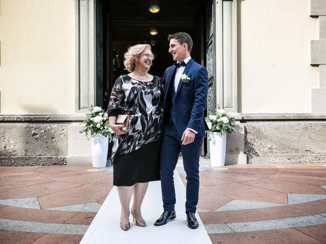 Il matrimonio di Stefano e Silvia a Carugate, Milano 18