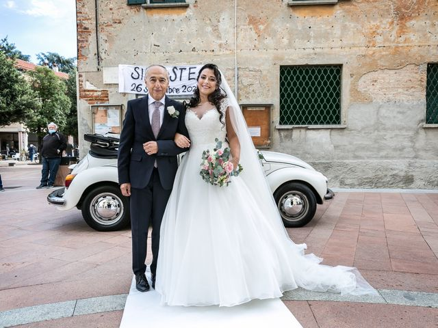 Il matrimonio di Stefano e Silvia a Carugate, Milano 25
