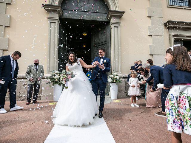 Il matrimonio di Stefano e Silvia a Carugate, Milano 33
