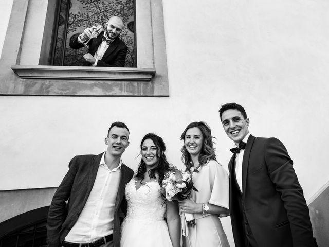 Il matrimonio di Stefano e Silvia a Carugate, Milano 75