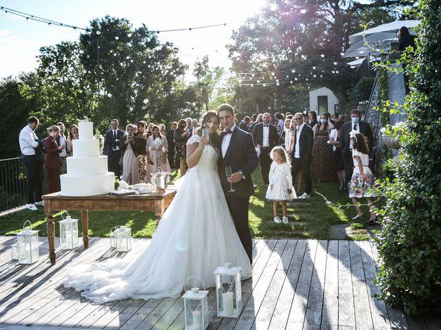 Il matrimonio di Stefano e Silvia a Carugate, Milano 79