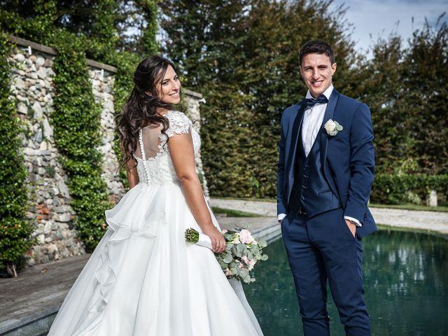 Il matrimonio di Stefano e Silvia a Carugate, Milano 81