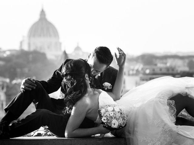 Il matrimonio di Alessandro e Chiara a Roma, Roma 2
