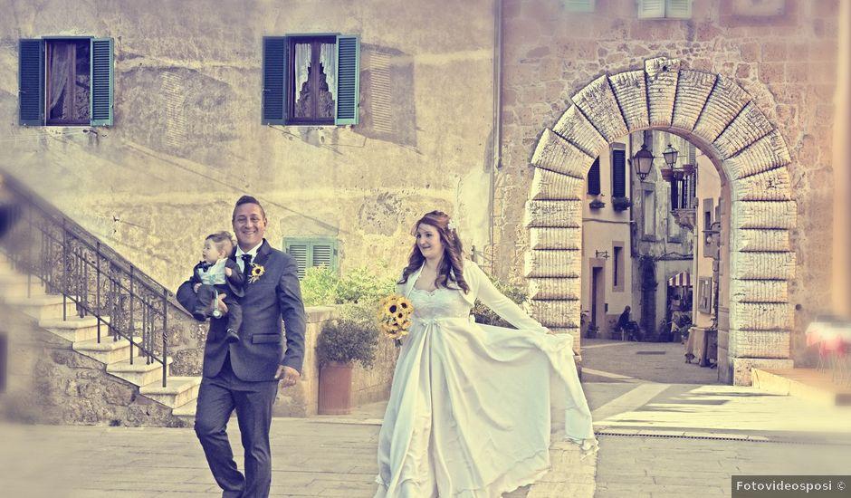 Il matrimonio di Giorgio e Stefania a Acquapendente, Viterbo