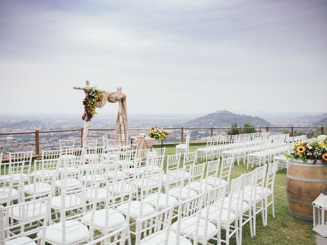 Il matrimonio di Francesco  e Paola a Gussago, Brescia 1