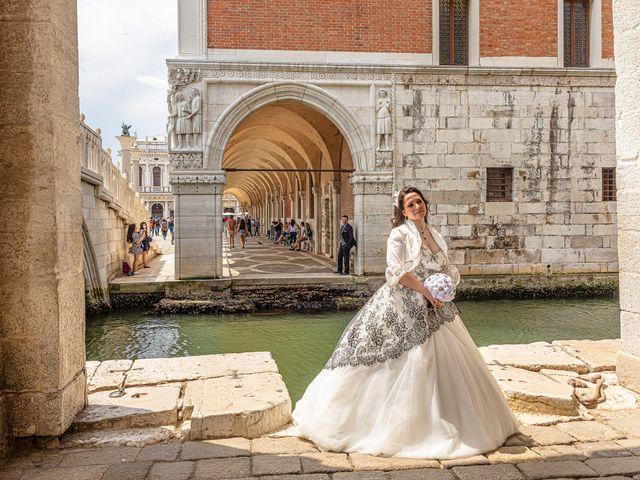 Il matrimonio di Marco e Sara a Venezia, Venezia 50