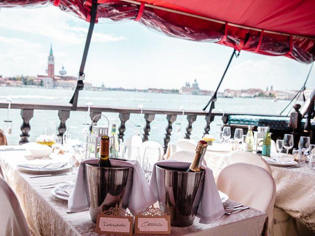 Il matrimonio di Marco e Sara a Venezia, Venezia 55