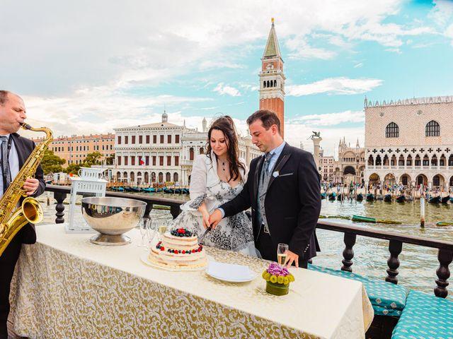 Il matrimonio di Marco e Sara a Venezia, Venezia 75