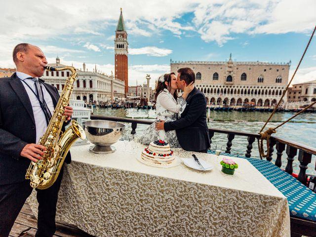 Il matrimonio di Marco e Sara a Venezia, Venezia 76