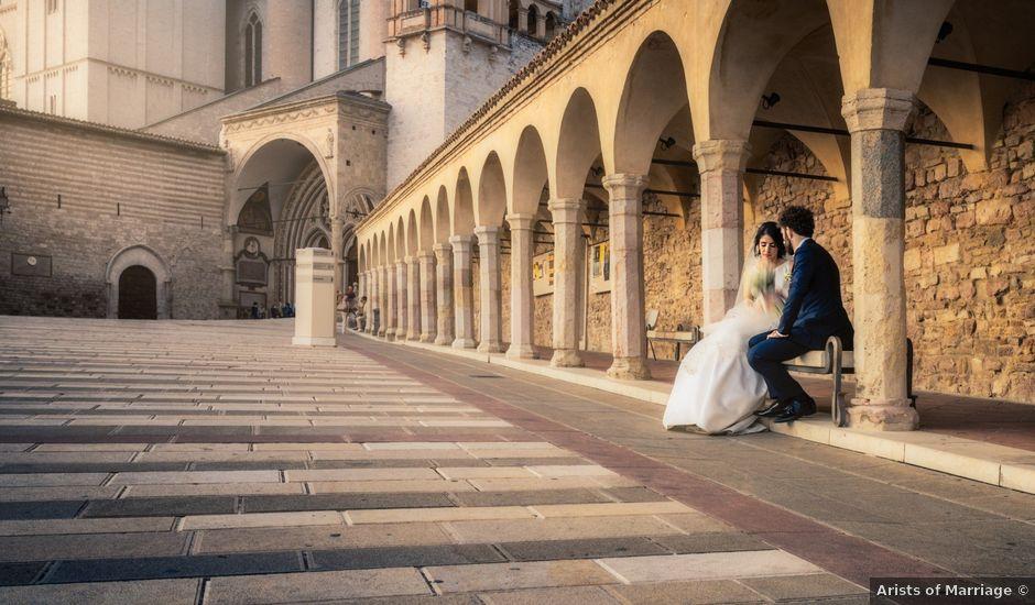 Il matrimonio di Lorenzo e Laura a Assisi, Perugia