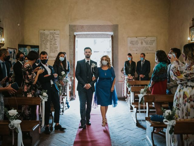 Il matrimonio di Matteo e Eliana a Arezzo, Arezzo 21