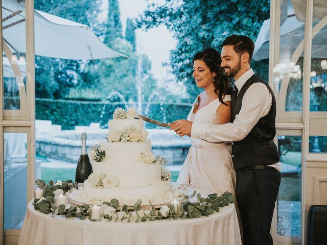 Il matrimonio di Matteo e Eliana a Arezzo, Arezzo 77