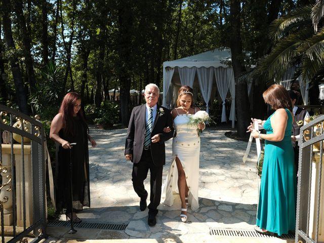 Il matrimonio di Elena e Vittorio a Nettuno, Roma 12