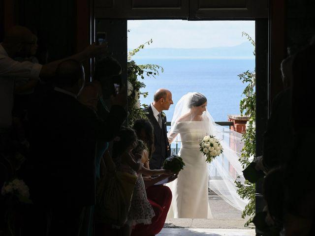 Il matrimonio di Paolo e Anna a Vico Equense, Napoli 1