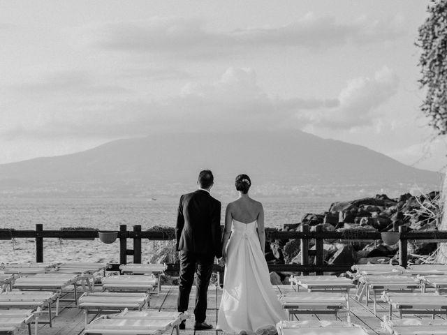 Il matrimonio di Paolo e Anna a Vico Equense, Napoli 37
