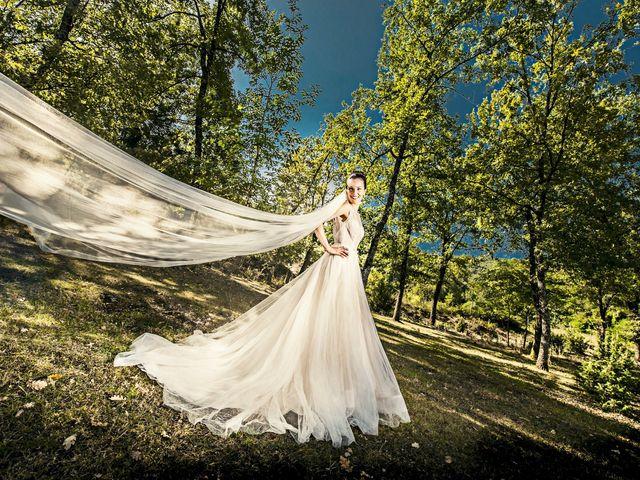 Il matrimonio di Alessio e Angela a Castelnuovo di Farfa, Rieti 7