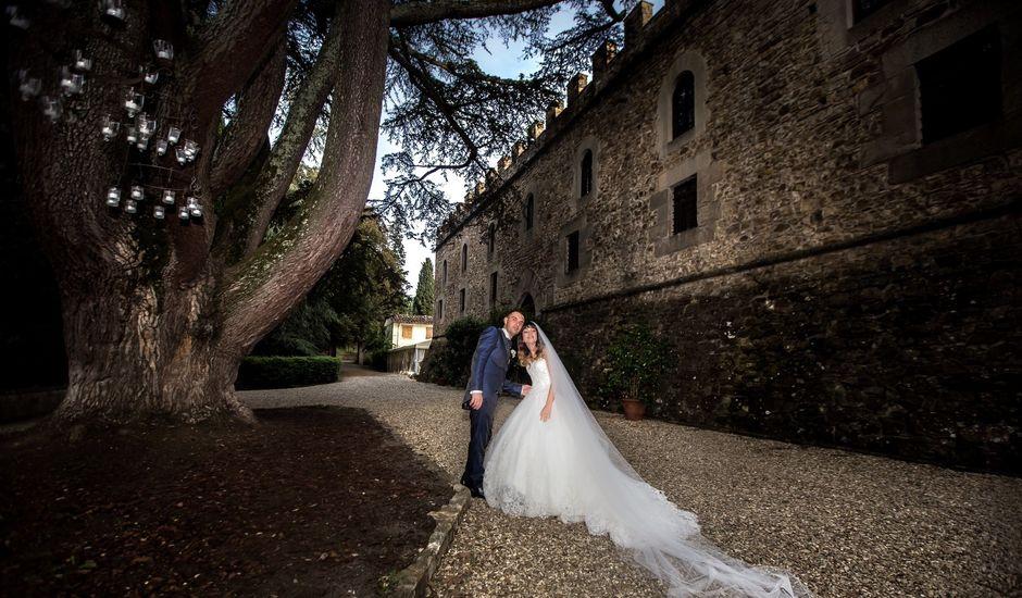 Il matrimonio di Valerio  e Daniela a San Casciano in Val di Pesa, Firenze