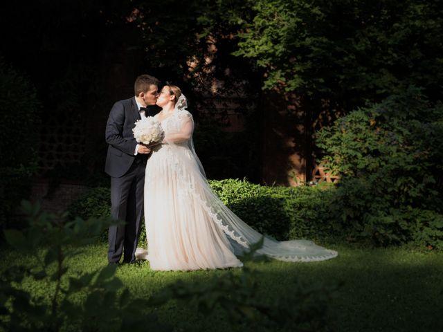 Le nozze di Ylenia e Maurizio