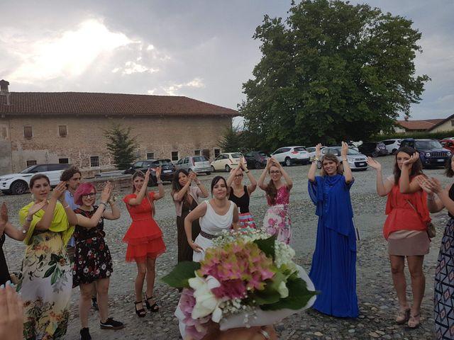 Il matrimonio di Giulia e Alessandro a Cavour, Torino 1