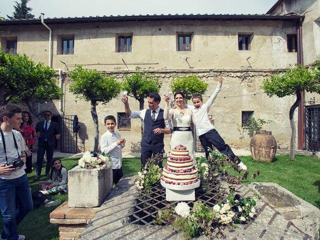 Il matrimonio di Daniele e Cristina a Mentana, Roma 17