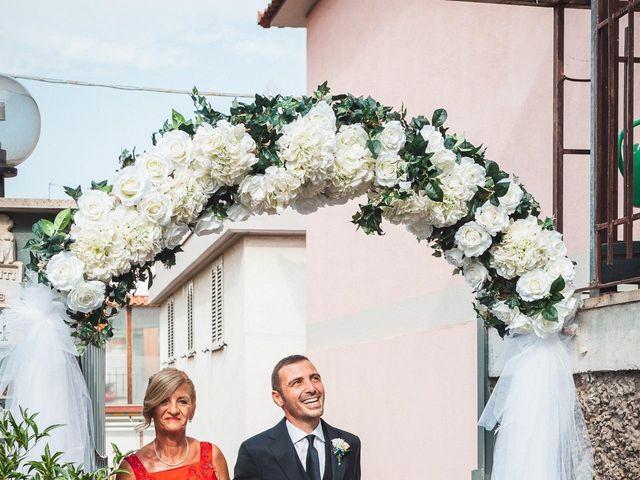 Il matrimonio di Valerio e Isabella a Civitavecchia, Roma 27