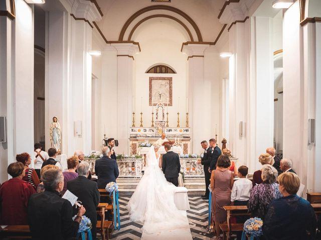 Il matrimonio di Valerio e Isabella a Civitavecchia, Roma 38