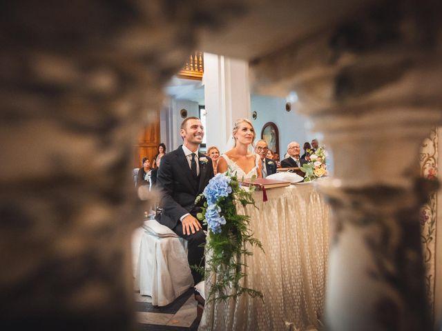 Il matrimonio di Valerio e Isabella a Civitavecchia, Roma 40