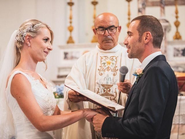 Il matrimonio di Valerio e Isabella a Civitavecchia, Roma 41