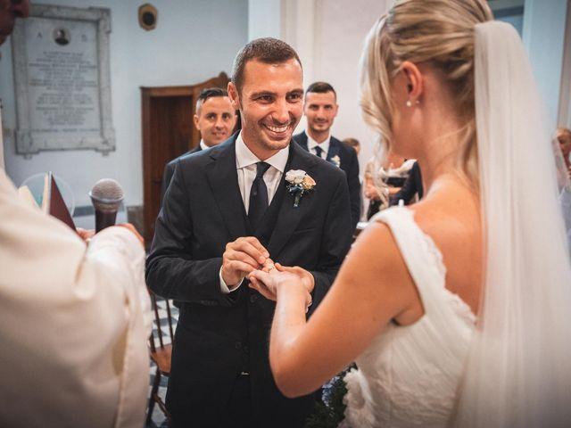 Il matrimonio di Valerio e Isabella a Civitavecchia, Roma 43
